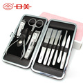 10 in 1 Nail Clipper Kit Nail Care Set Pedicure Ear pick Utility Stainless Steel Manicure Set Tools Free Shipping