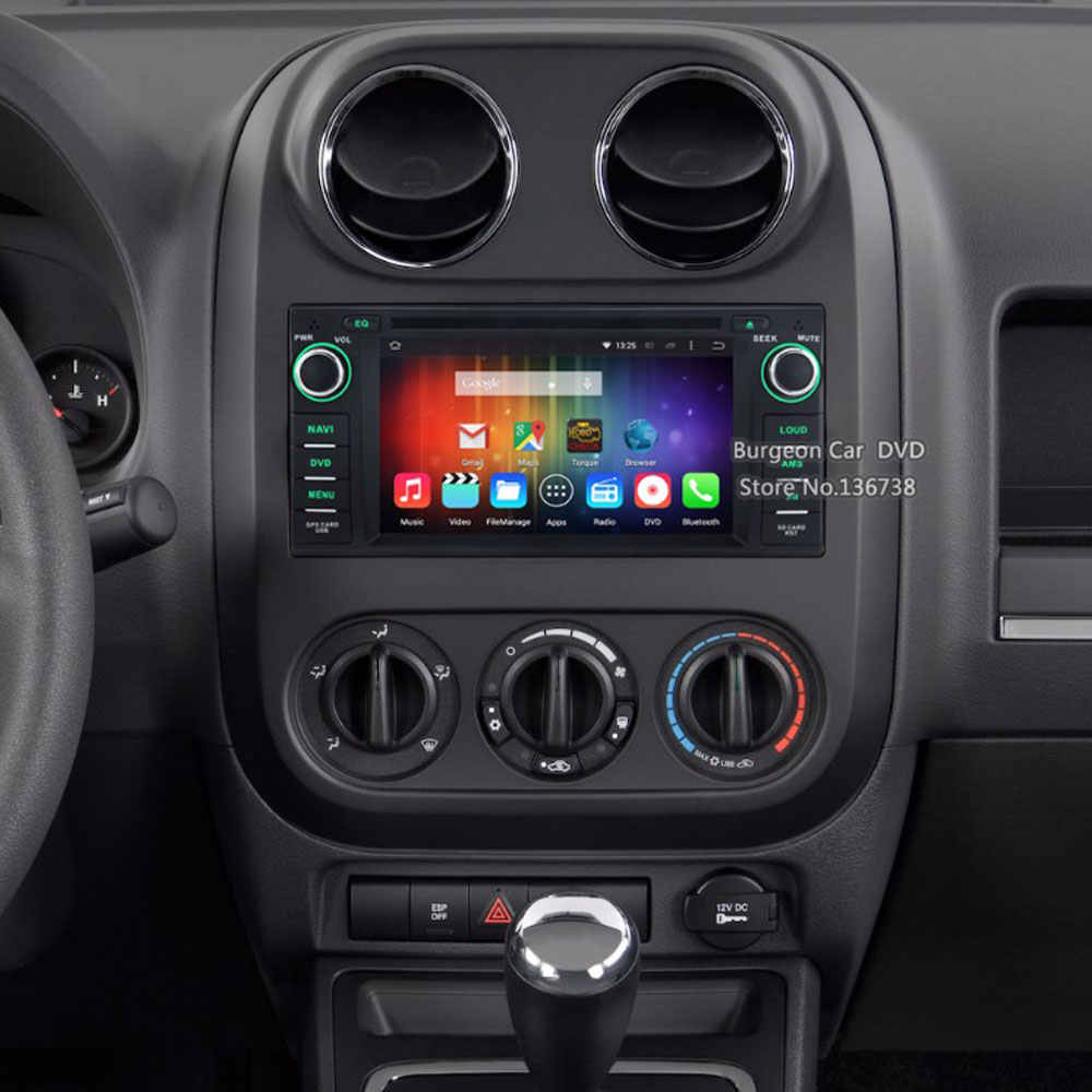 Octa Core Android 8 0 Car DVD Player For Jeep Wrangler Unlimited Compass  Commander Grand Cherokee Dodge With 4GB RAM 32GB ROM