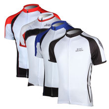 Men's Cycling Jersey Short Sleeve Comfortable Bicycle Bike Outdoor Shirts S-3XL 4 Color EOCJ01-04