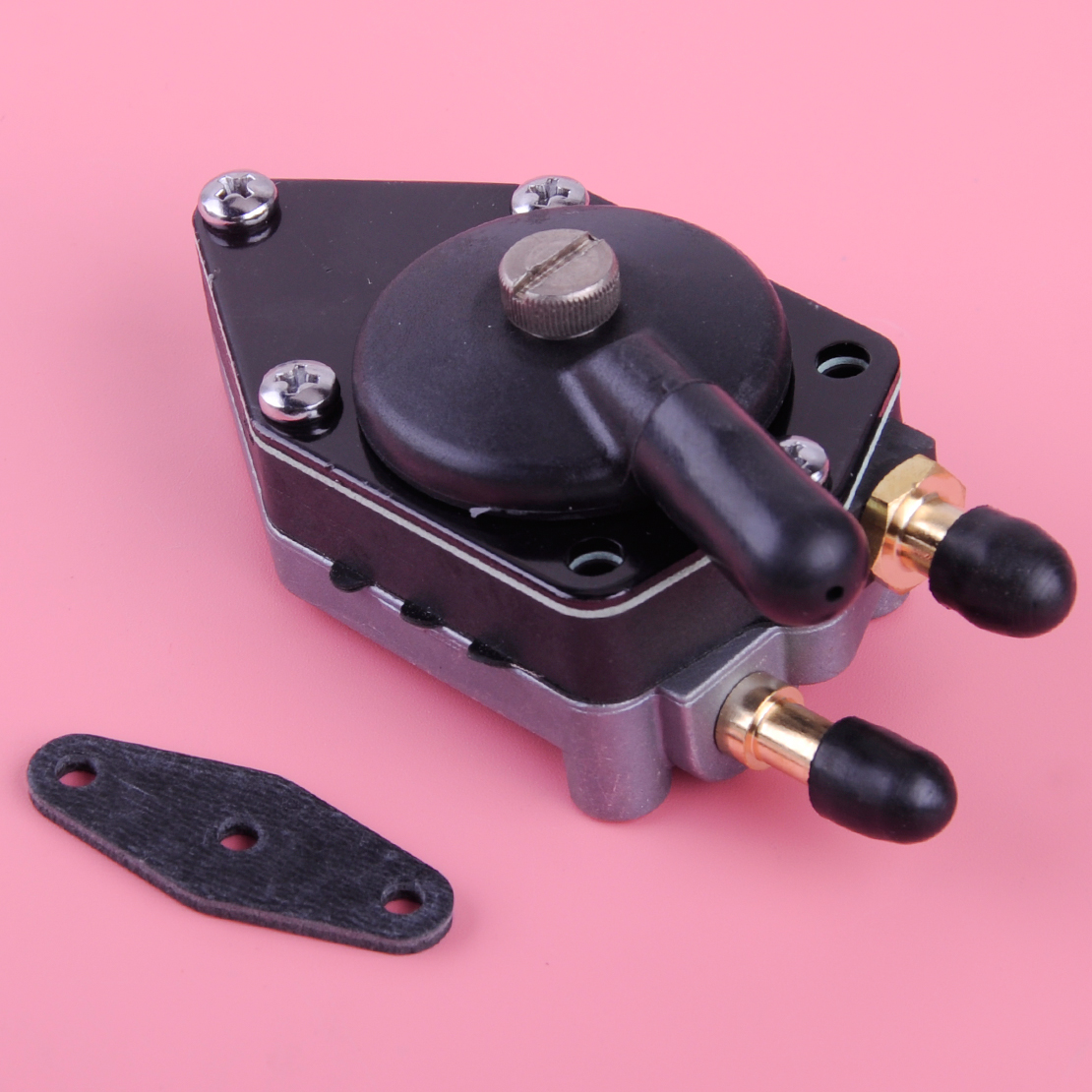 DWCX Fuel Pump with Gasket 438559 385784 433390 fit for Johnson Evinrude 25 140HP Outboard Motors