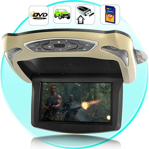 "9"" inches Roof Mount Car DVD Player LCD Screen Monitor"