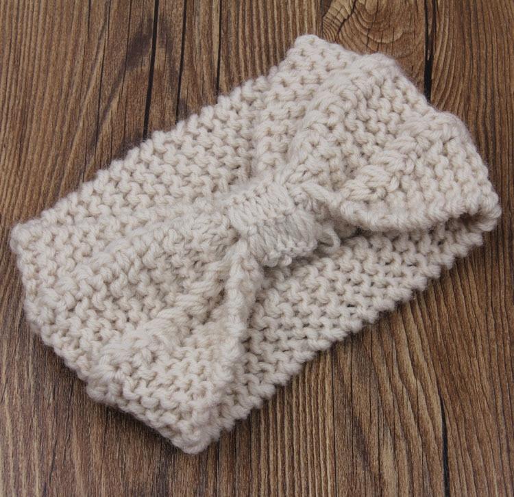 Knitted Turban Headband Crochet Headband Pattern Women Hair Accessories Winte...