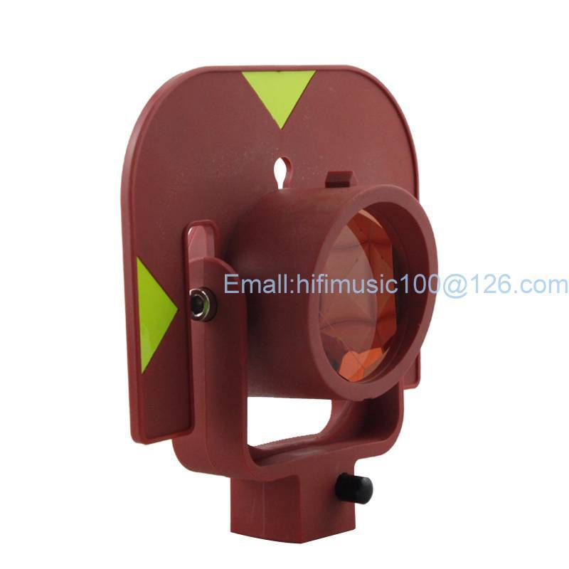NEW Total station prism Single prism for TYPE total station single prism with soft bag for total station with leica type connector