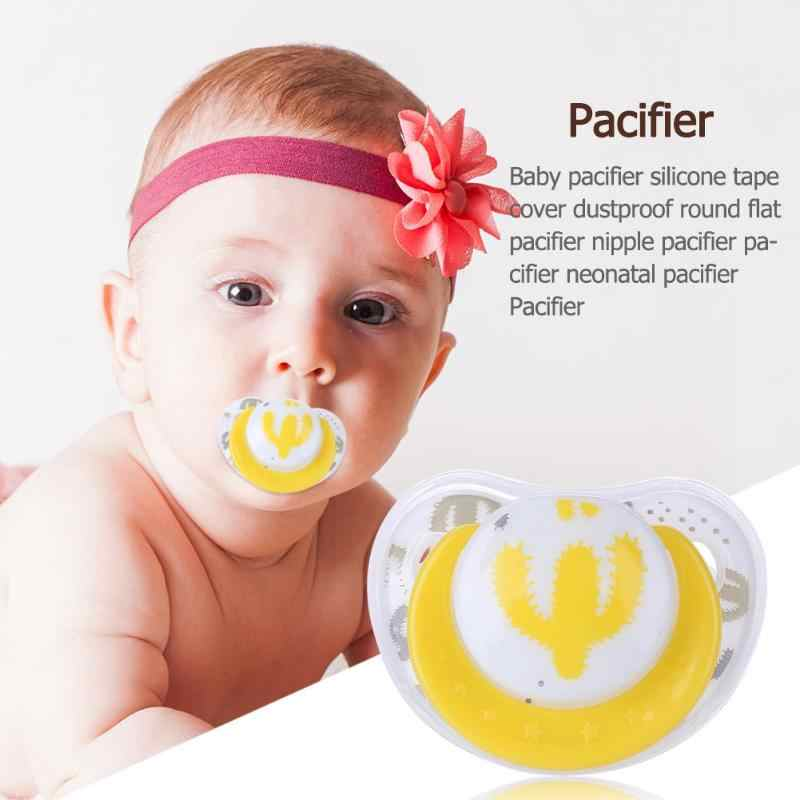 Cute Baby Pacifier Silicone Toy Newborn Boy Girls Anti-Dust Nipple Soother