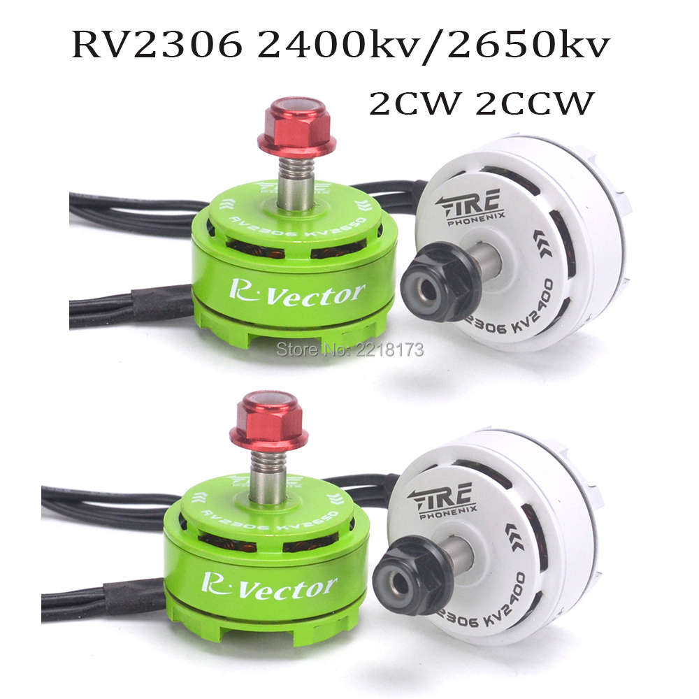 New AOKFLY RV2306 2306 2400KV / 2650KV CW CCW Motor 4pcs For RC Quadcopter Spare Part FPV Racing Drone цена