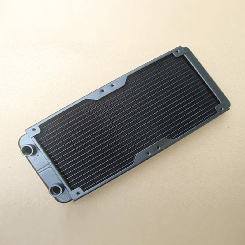 Centechia 240mm Water Cooling Radiator For PC CPU With Fan and Mesh Cover Water Cooling freezer 240 multi platform 4 fan integrated water cooled cpu radiator 115x am4