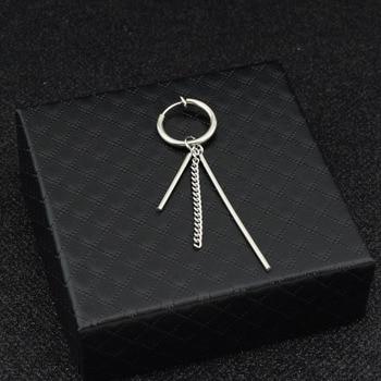 JungKook Tassel Long Chain Earring – Ear Clip