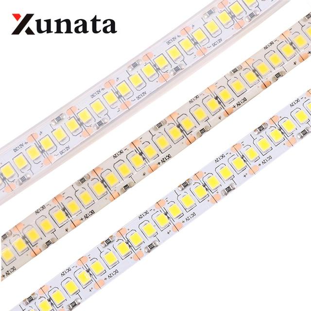 led strip light tape 2835 3528 smd 240leds m dc12v waterproof ip67 rh aliexpress com