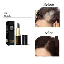 Coverage Hair Color One-Time dye Gray Root VERONNI Instant Modify Cream Stick Temporary Colour Dye Cover Up White
