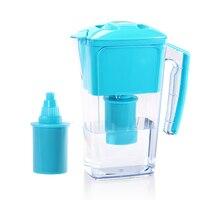 Newest 2.5L Slim AlkaWater Jug Pitcher Blue Alkaline pH 9.5 Antioxidant ORP 200 Home Portable Alkaline Ionizer Water Purifier