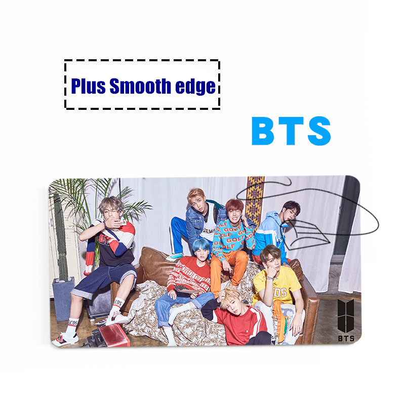 Kpop home Wanna one BTS Bangtan Boys same Plus Mouse pads Natural rubber Fluent Smooth edge mouse mat Fit well