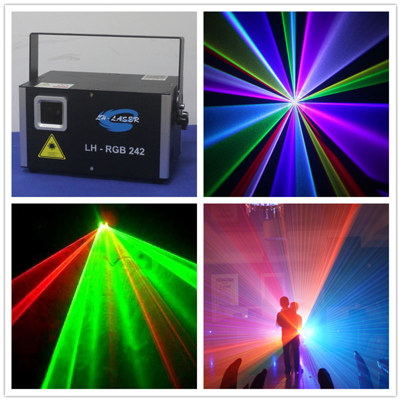 45K System 2W RGB Full Color Laser Light / 2W RGB Laser Light For Christmas / Quality 2w RGB Laser Project