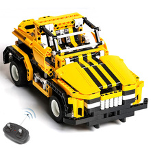 423pcs 2in1 Transform Car DIY Assemble RC Building Blocks Technic Series The Track Race Set for Kids girl boy