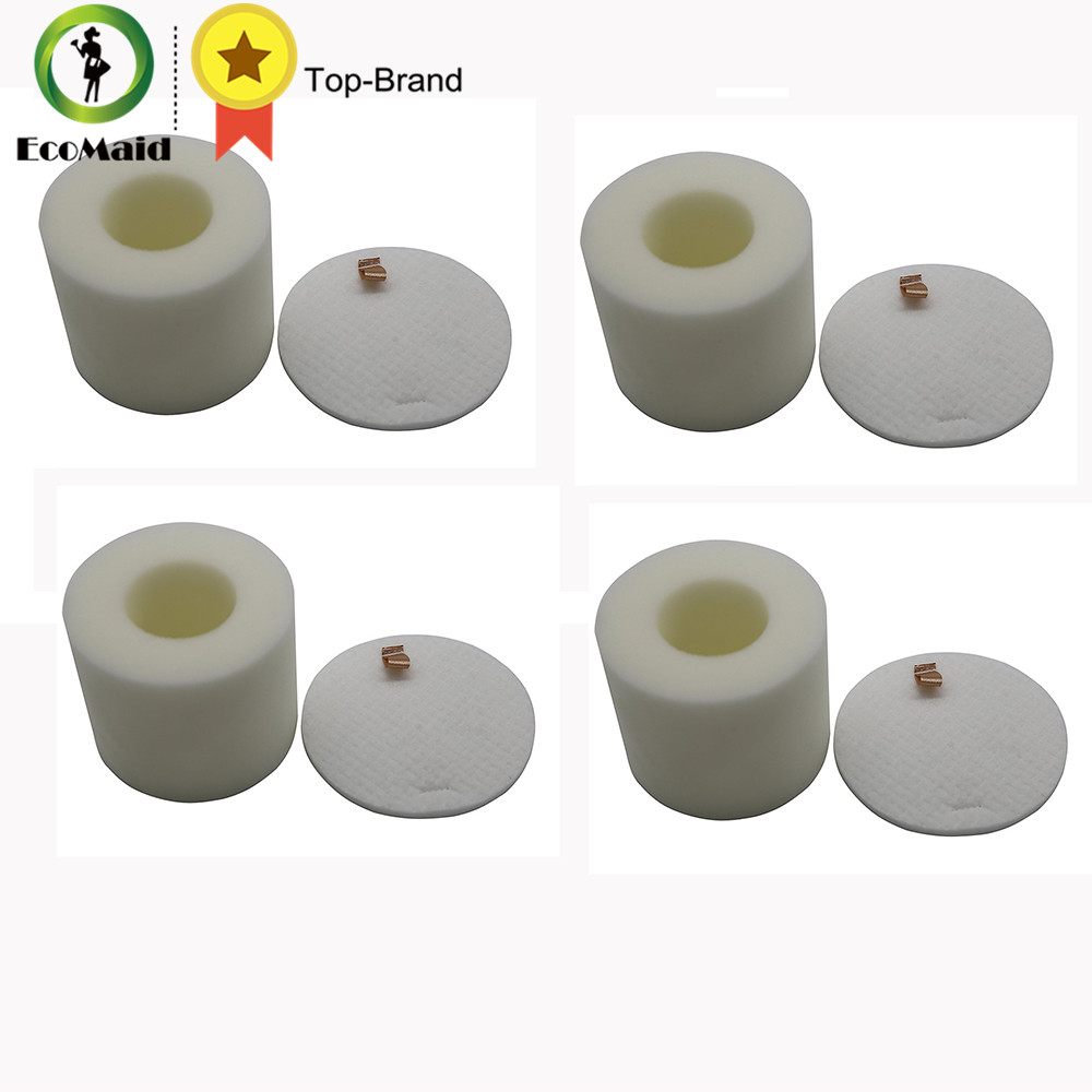 Foam Filter Set for Shark Rotator Vacuum Cleaner Compatible for NV650 NV752 Vacuums Replaces 4 Foams & Felts Filter rotator
