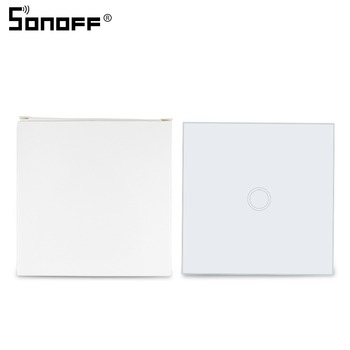 86 Type SONOFF T433 RF 433mhz Panel Wall Remote Touch Control LED Light for Sonoff T1 EU/UK SONOFF RF/ 4CH PRO Wifi Smart Home