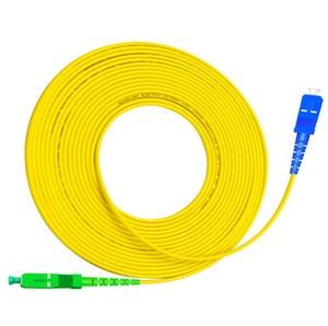 Image 3 - SC APC to SC UPC SC PC G657A 1m 2m 3m Fiber Patch Cable Jumper FTTH Patch Cord Simplex 2.0mm Fibra Optica Patchcord