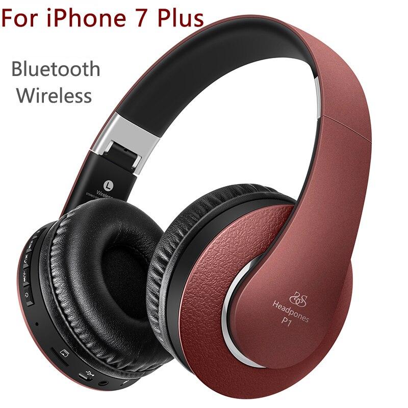 Casque avec Micro pour iPhone 7 Plus écouteur Sans Fil pour TV lecteur mp3 Bluetooth Casque pour Filles auriculares casque audio