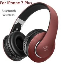 Наушники с микрофоном для iPhone 7 Plus Беспроводной наушники для ТВ MP3 Player Bluetooth наушники для девочек Auriculares шлем Аудио