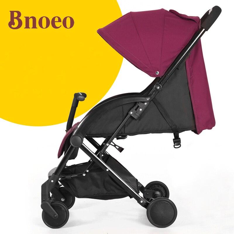 Bnoeo baby car baby stroller light folding umbrella car autumn and winter ultra-light baby stroller ultra light portable shock absorbers bb child summer baby hadnd car umbrella