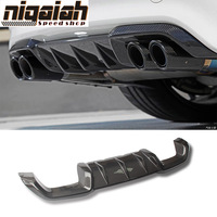 F87 M2 Carbon Fiber Racing Rear Diffuser Lip Bumper for BMW 2 Series F87 M2
