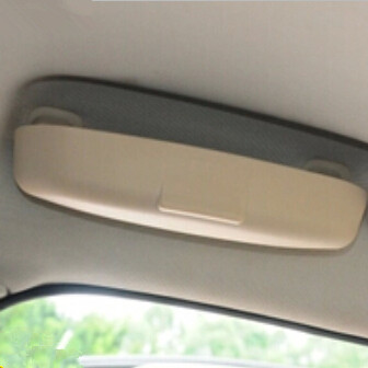 Car styling Glasses Box Case Storage Box For Toyota Highlander Camry Corolla RAV4 Yaris Land Cruiser PRADO Vios Vitz Reiz