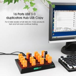 Image 2 - Sipolar סופר מהירות 16 יציאות מרובה USB 3.0 מעתק רכזות עבור HW 3G מודמים SD tf כרטיס U פלאש דיסק עותק עם תוכנה חופשית