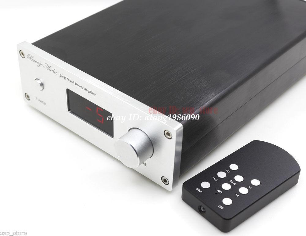 Finished HIFI PGA2311 Remote Volume Controller Preamplifier 4 Way Input hifi pga2311 remote volume control preamplifier stereo preamp with 4 way inputs