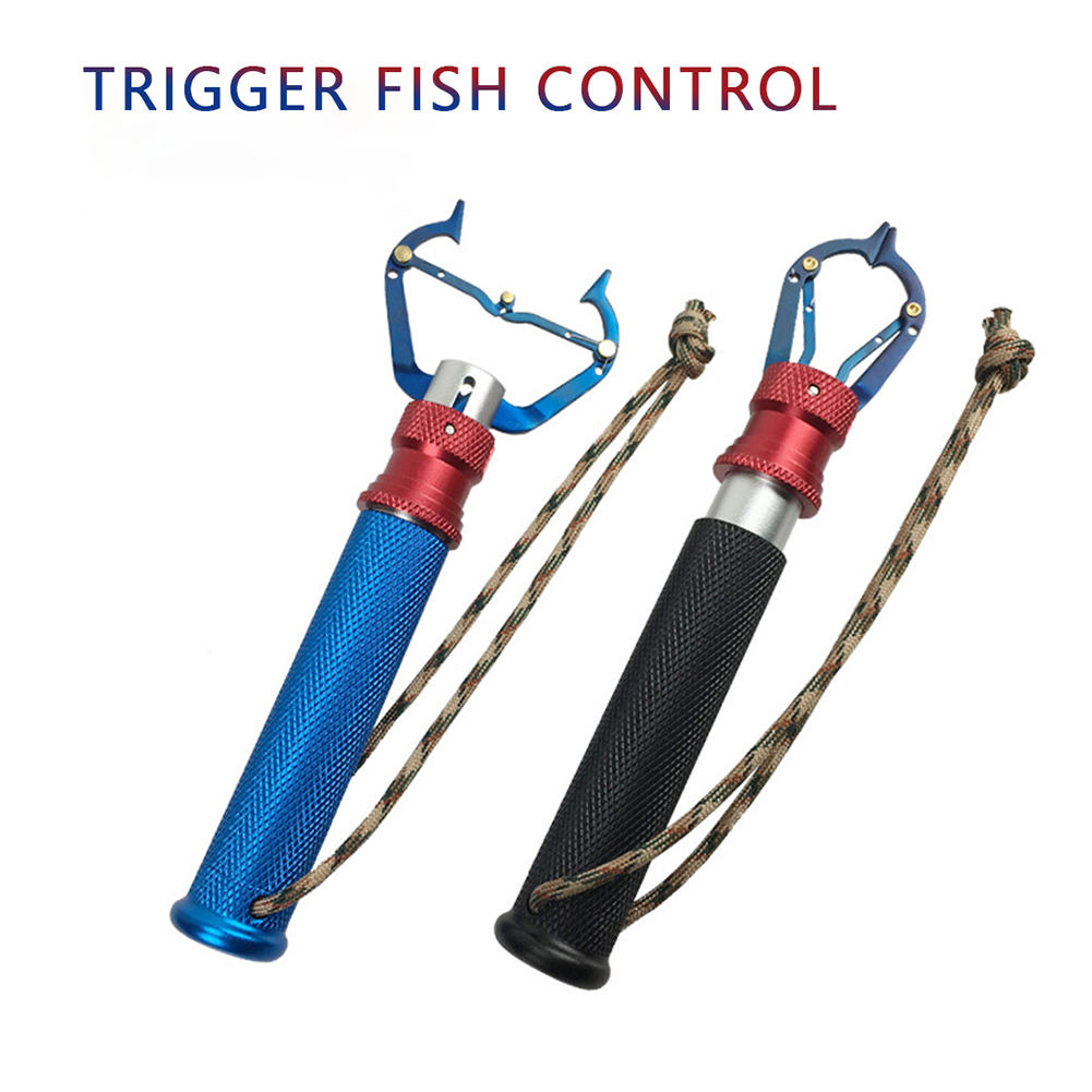 Aluminum Alloy Fishing Grip Pliers Stainless Steel Hook Recover Line Cutter Tool