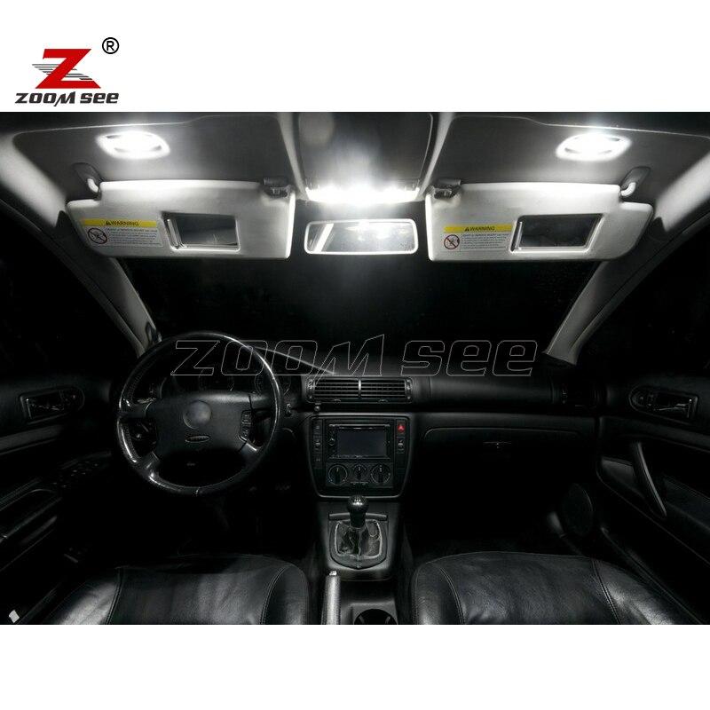 19 шт. x светодиодная интерьерная с Canbus верхнее освещение+ парковка город лампы Kit для Volkswagen passat b5 седан универсал(1997-2005