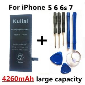 Image 3 - 4260MAh Hoge capaciteit Lithium Batterij Voor Apple iPhone 6S 8 7 6Sp 6p Vervanging Batterijen Interne Telefoon bateria + Gratis Tools