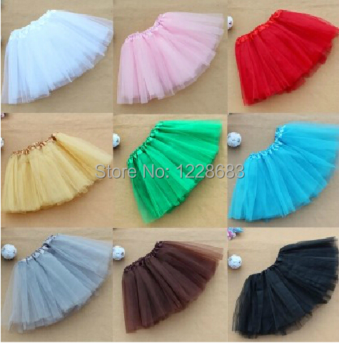 Free Shipping New Tulle Tutu Dress For Women Adult Yellow Royal Blue Green Red Pink White Purple Black Multi Color Half Tutu