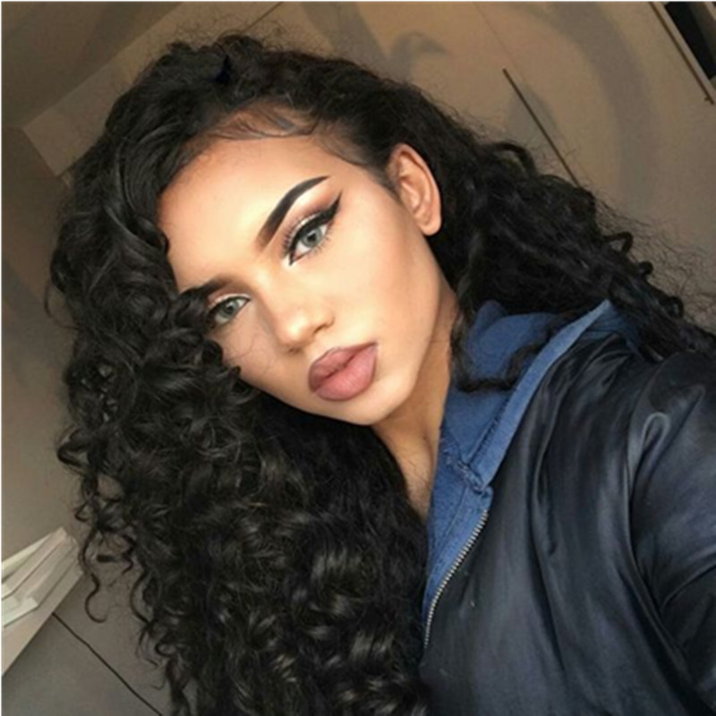 Malaysian 360 Loose Wave Lace Front Wig Bleached Knots 180