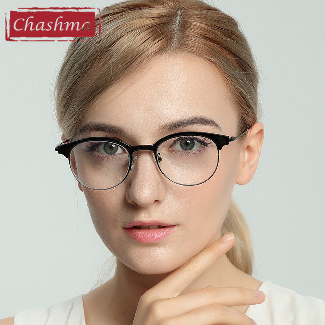 3df3aaab8bb Chashma New Fashion Vogue Eyewear Cat Glasses Women Eyewear frames Glasses  Men and Women Frame Designer Eyeglasses