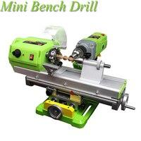 Миниатюрные шарики машина дома высокая точность маленький токарный станок обработки дерева, бисера машина автоматическая скамеечке дрель