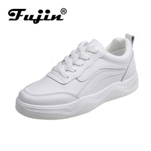 FUJIN Brand 2019 Fashion Women Flats Casual Sneakers Spring Autumn Summer Female Shoes Lace Up Comfortable for