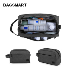a9180fa6691f BAGSMART Travel Makeup Bag Waterproof Toiletry Bag For Men and Women (Dopp  Kit) Large