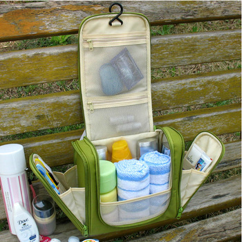 Korean Toiletry Cosmetic Bag Travel Necessaries Makeup Organizer Beauty Case Organizador De Bolsa Toilet Bag Office Handbags