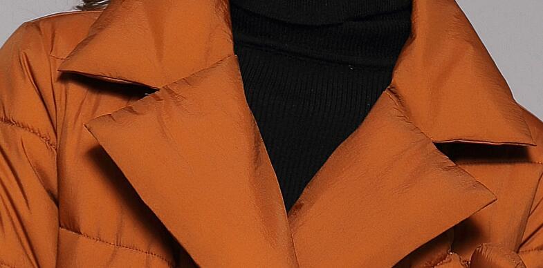 Donne red 2019 montaggio Imbottiture Modo Nuovo Black Di Temperamento Colour Rivestimento Giacca Del Delle caramel Allentato Cotone Cappotto Caldo xxS18qUwg