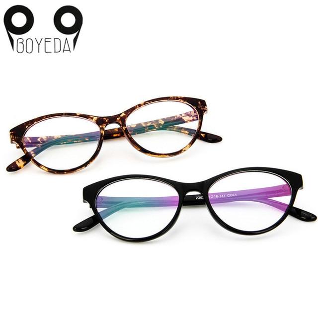 41933a9127 BOYEDA Cat s Eye Optical Glasses Frame Brand Fashion Women Myopia Eye  Glasses Frame Vintage Retro Spectacle Eyewear Eyeglasses