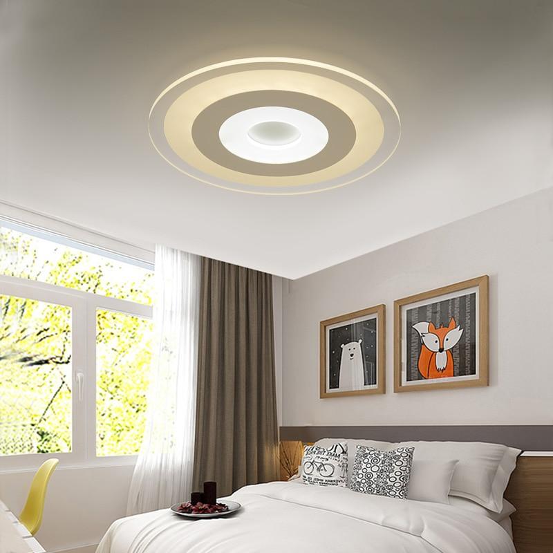 Deckenleuchten Deckenleuchten & Lüfter 2017 Neue Slim Wichtigsten Schlafzimmer Lampe Led-deckenleuchte Moderne Minimalistische Kreisförmige Wohnung Wohnzimmer Deckenleuchten Zl429