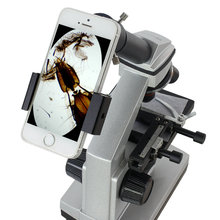 All Metal Telescope & Microscope Lens Adaptor Smartphone Camera Adapter for Eyepiece Tube Outside diameter 24~36mm