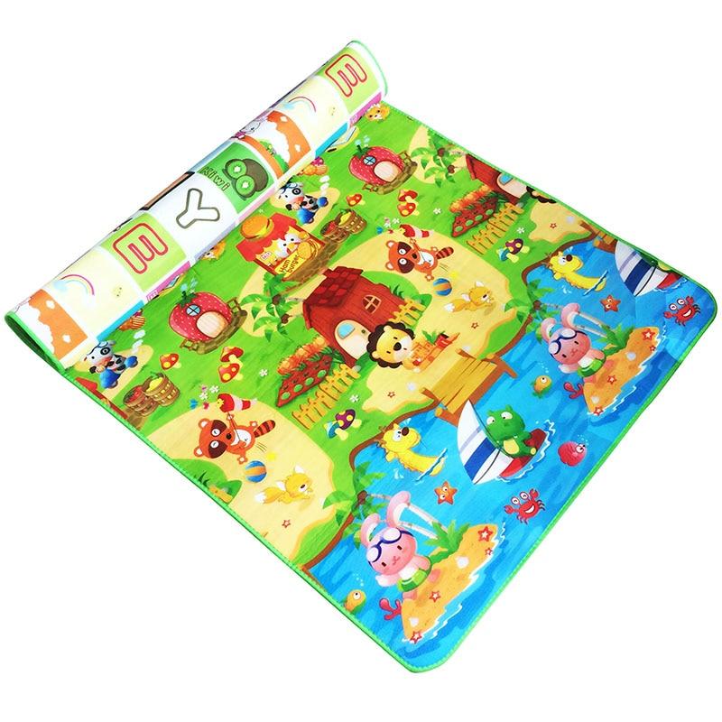 Baby Krabbeln Matte 0,5 cm Dicke Spielen Teppich Soft Eva-schaum Gym Spiel...