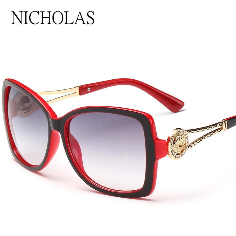 ... Mulheres enormes Óculos De Sol Das Mulheres 2016 UV400 óculos de sol Da  Moda sapo óculos de Sol Retro óculos de sol Oculos Gafas de sol occhiali da  sole ... 3128ed378f