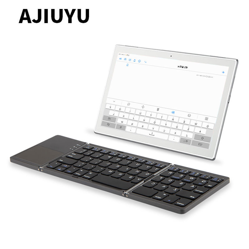 купить Three folded wireless Bluetooth Keyboard For Sony Xperia Tablet Z Z1 Z2 Z3 Z4 SGP341 SGP311 SGP312 sgp321 SGP711 Tablets PC Case онлайн