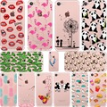 ciciber Mickey&Minnie Kiss Pineapple Unicorn Flamingo Cactus Soft Silicone Case Cover for Iphone 7 6S 6 8 Plus 5S SE X XR XS MAX