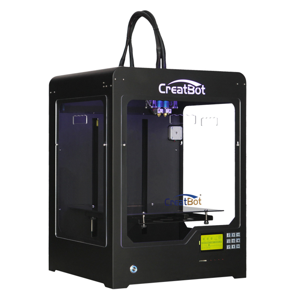 2015 Creatbot High Precision NEW FFF 3D Printer 300*250*300 mm full metal frame support multi material DX02