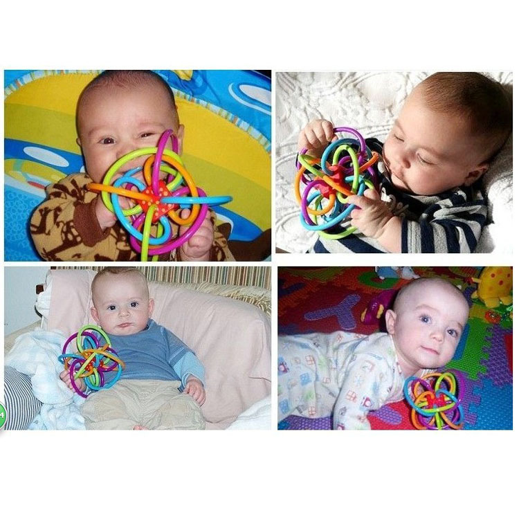 12 Months Baby Toys : New baby rattles toys develop intelligence
