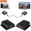 Zeepin LKV372A 60 м HDMI Удлинитель Передатчик + Приемник Отправитель с RJ45 LAN CAT6 Сигнал Сетевой Кабель Для DVD PS3 проектор