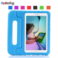 цена на For Samsung Galaxy Tab 3 Lite Case T110 T111 T116 Shockproof EVA Foam Protective Cover For Samsung Tab E 7.0 T113 Kids Stand