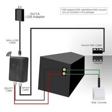 Produkty inteligentnego domu czujnik garażu inteligentny włącznik wifi wtyczka wi fi obsługa przez aplikację w telefonie garażu przełącznik Alexa Google home IFTTT